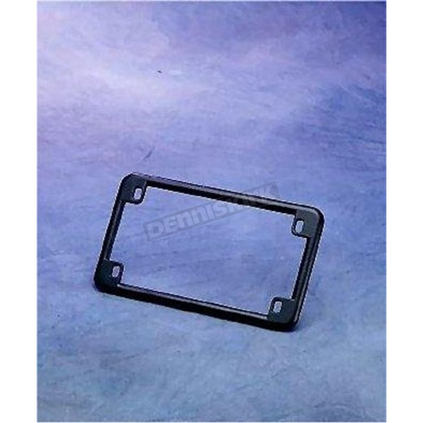 Chris Products Black License Plate Frame - 0610