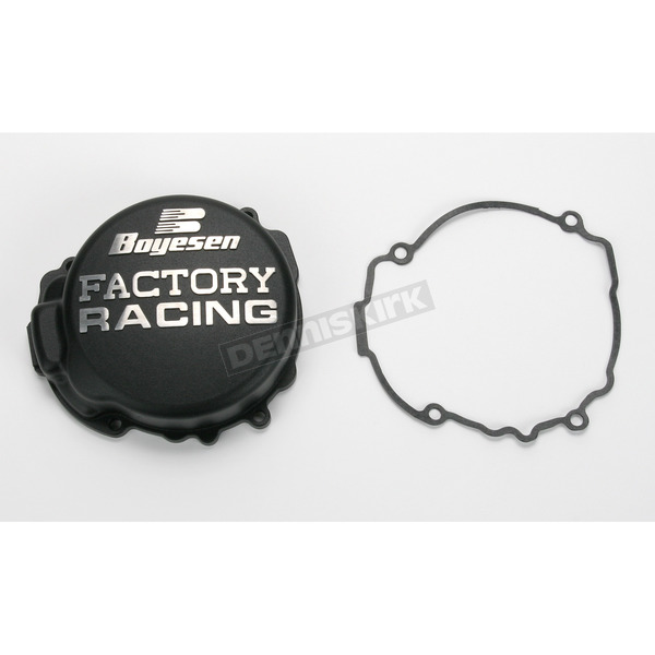 Boyesen Factory Racing Black Ignition Cover - SC-41B