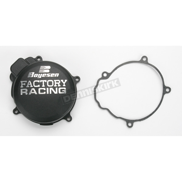 Boyesen Factory Racing Black Ignition Cover - SC-42B