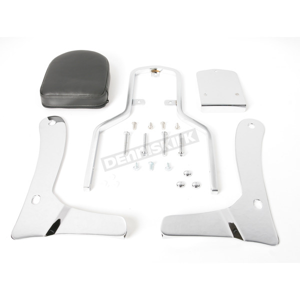 MC Enterprises Sissy Bar w/Plain Pad - 291-24