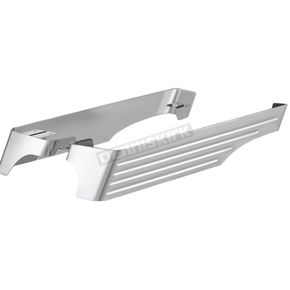 Chrome Billet Saddlebag Extension w/Dual Exhaust Cutouts - 200-A