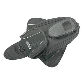 Joe Rocket Black Manta Magnetic Mount Tank Bag - 559-0000