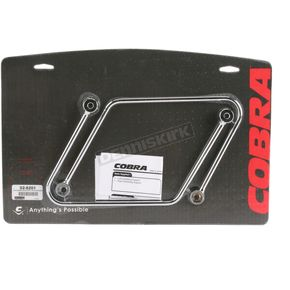 Cobra Saddlebag Support Brackets - 02-6201