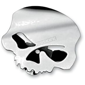 Custom Chrome Skull Horn Cover - 609992