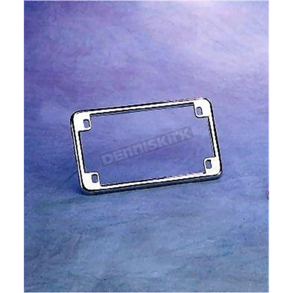 Chris Products Chrome License Plate Frame - 0600