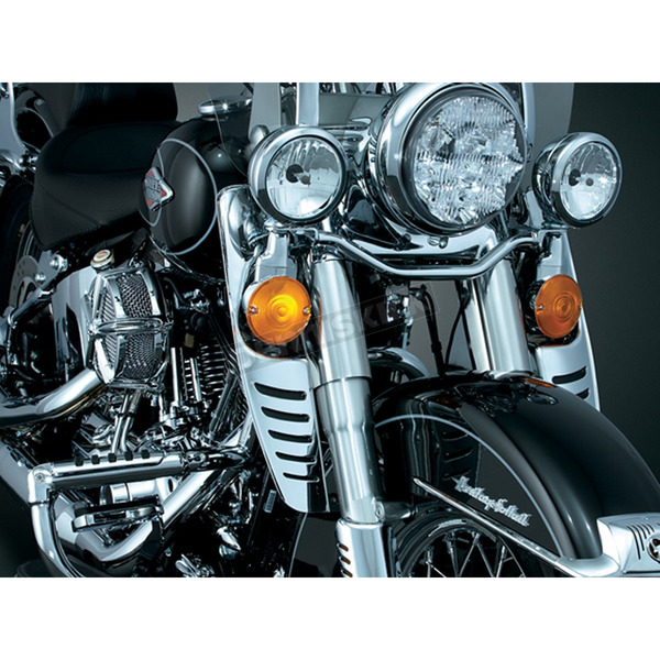 Kuryakyn Fork Mounted Variable Wind Deflectors - 1312