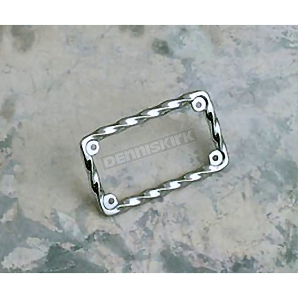 Russell Tornado Twist License Plate Frame - R13025