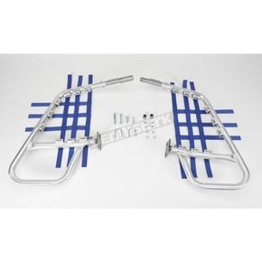 DG Alloy Nerf Bars w/Blue Webbing - 60-6210