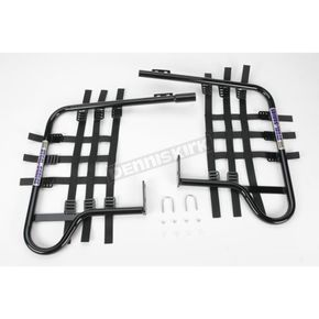 DG Black Steel Nerf Bars w/Black Webbing - 54-2116