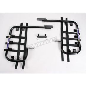 DG Black Steel Nerf Bars w/Black Webbing - 54-2505