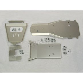Moose Full Chassis Aluminum Skid Plate - 0505-0080