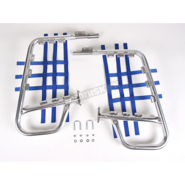 Alloy Nerf Bars w/Blue Webbing - 60-6220