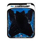 Black Volcano Streetbike Traction Pad Kit - 55-10-0107B