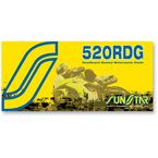 SS520RDG Dualguard Sealed Motorcycle Chain - SS520RDG-114