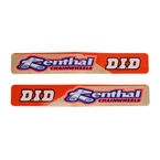Swingarm Renthal/D.I.D V2 Decals - N30-444