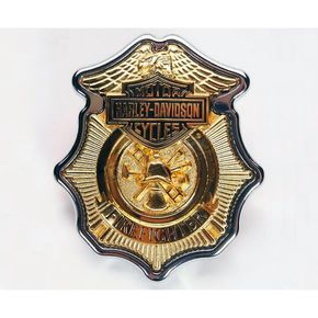 Harley-Davidson Inc Firefighter Commemorative Collection Medallion - 9171904