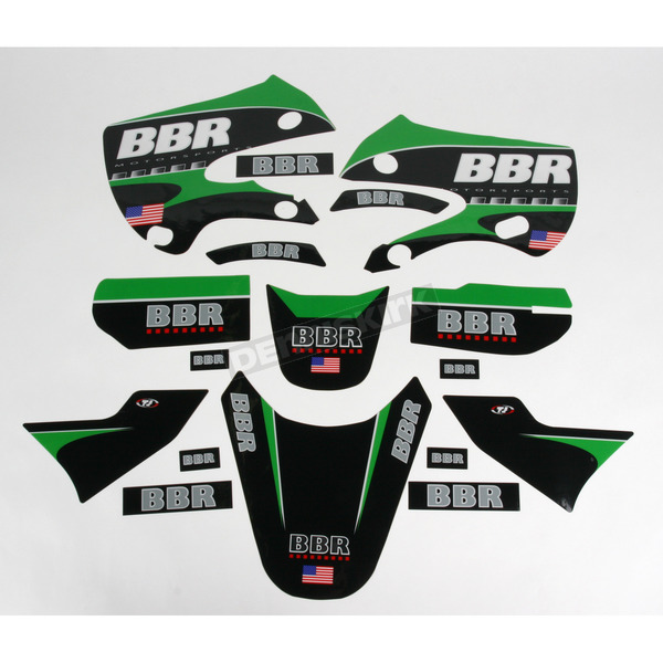 BBR Motorsports Chrome Graphics Kit - 710KLX1122