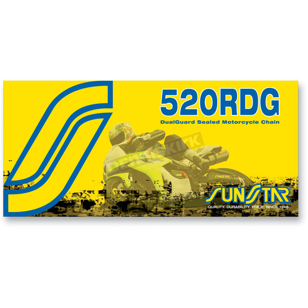 Sunstar SS520RDG Dualguard Sealed Motorcycle Chain - SS520RDG-120