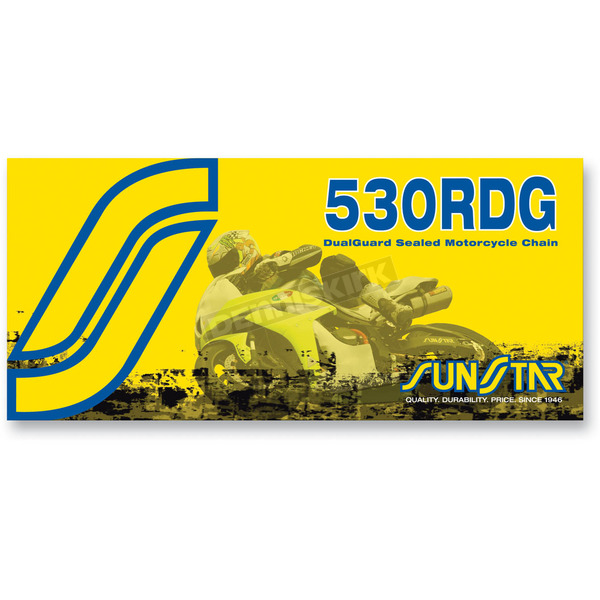 Sunstar SS530RDG Dualguard Sealed Motorcycle Chain - SS530RDG-110