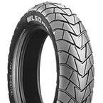 Front or Rear ML50 120/90J-10 Blackwall Scooter Tire - 157414