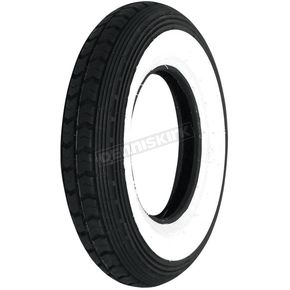 Continental Front or Rear LB 3.50-8 Wide White Sidewall Scooter Tire - TWW8