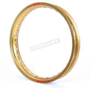 Excel Rear Gold Colorworks 18x2.15 MX Rim - FEG411
