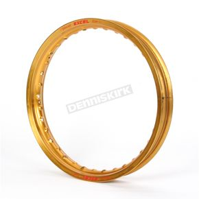 Excel Rear Gold Colorworks 18x2.15 MX Rim - FEG422