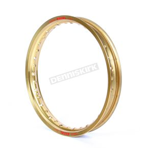 Excel Rear Gold Colorworks 19x2.15 MX Rim - GEG422