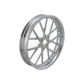 Chrome Front 21x3.50 Procross Forged Billet Wheel - 10102-204