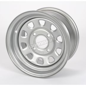 Large Bell Delta Silver Steel Wheel - 1225553032