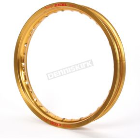 Excel Replacement gold Rear 18x2.15 Rim for Pro Series Wheels - FEG412N