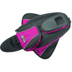 Joe Rocket Pink Manta Magnetic Mount Tank Bag - 559-0900