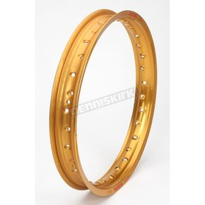 Excel Rear Gold Colorworks 19x2.15 MX Rim - GEG411