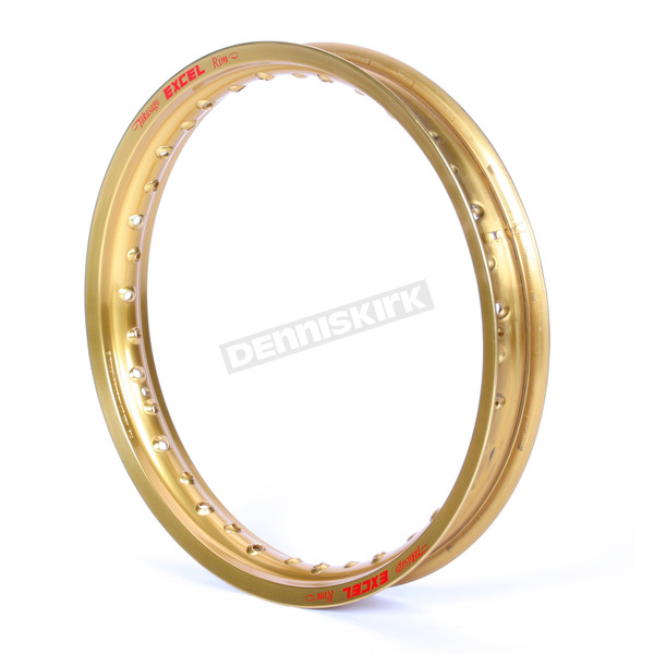 Excel Rear Gold Colorworks 18x2.15 MX Rim - FEG410