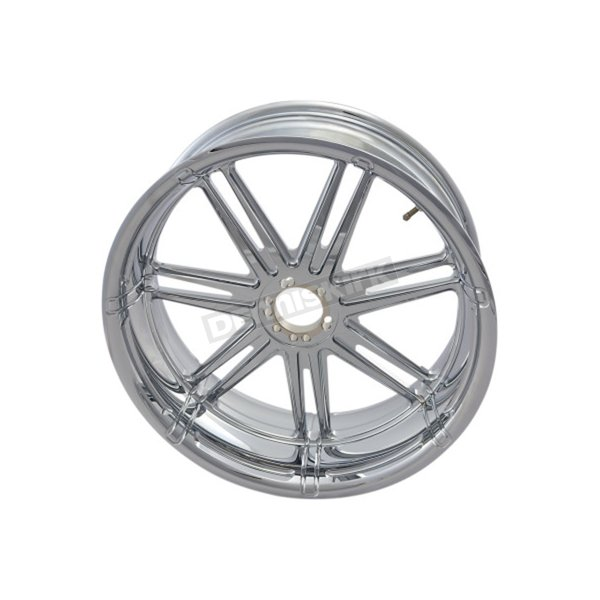 Chrome 7 Valve Rear 17 x 6.25 in.  Forged Billet Wheel - 10302-201