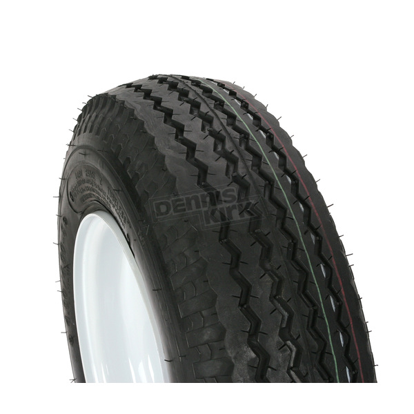 Kenda K371 6-Ply 4.80/4.00-8 Tire W/4-Hole Solid Wheel Assembly - 30040