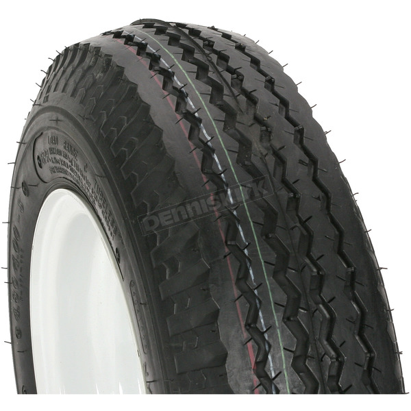 Kenda K371 6-Ply 4.80/4.00-8 Tire W/5-Hole Solid Wheel Assembly - 30060