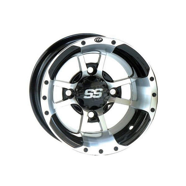 ITP Machined SS112 Sport Alloy Wheel - 0928385404B