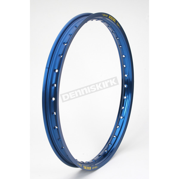 Excel Colorworks Blue Front 21x1.60 MX Rim - ICD408