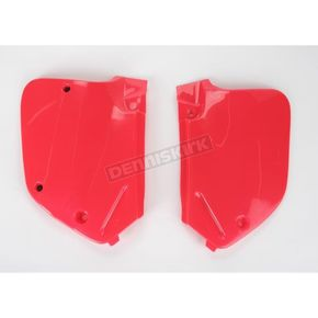 UFO Fluorescent Red Side Panels - HO02654067
