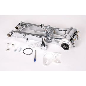 Lonestar Racing +4 in. Rear Chrome Swingarm  - 15-2411042121
