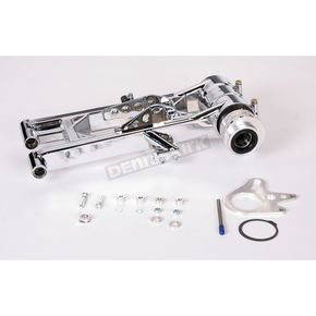 Lonestar Racing Standard Rear Chrome Swingarm  - 15-2111002121