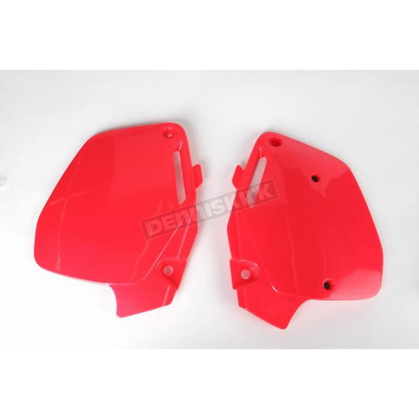 UFO Fluorescent Red Side Panels - HO02626067