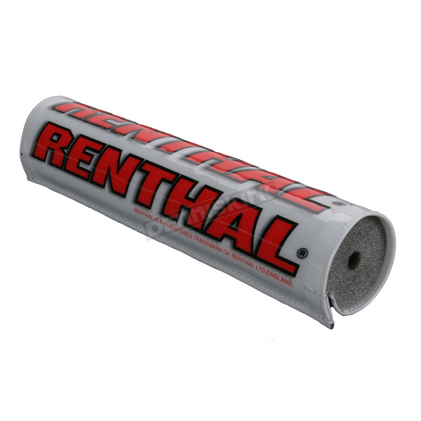 Renthal 10 in. Red/White Crossbar Pad - P263