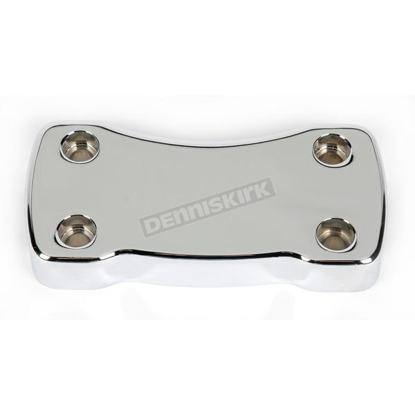 Smooth Billet Top Handlebar Clamps for Deuce-Style Risers - WO537