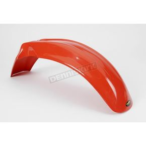 Maier Orange Front Fender - 12333