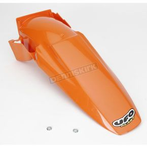 UFO KTM MX 98 Orange Rear Fender - KT03042-127
