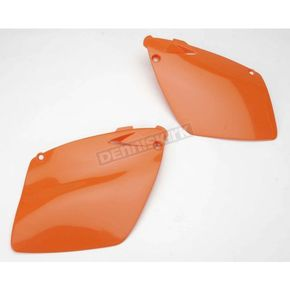 KTM Orange Side Panels/Rear Number Plate - 2043330237