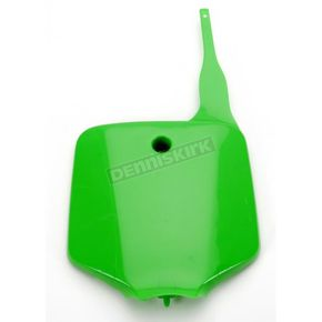 UFO Neon Green Front Number Plate - KA03732025