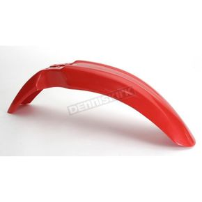Acerbis CR Red Front Fender - 2040480229
